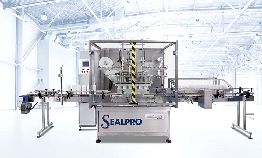 SA Sealpro Sealing Machine Shemesh Automation