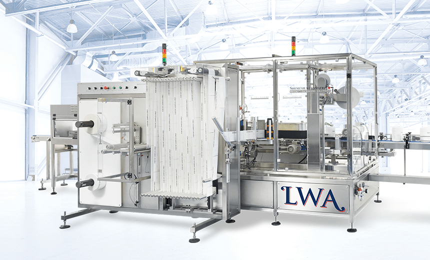 Universal Wraparound Labelling Machine Shemesh Automation