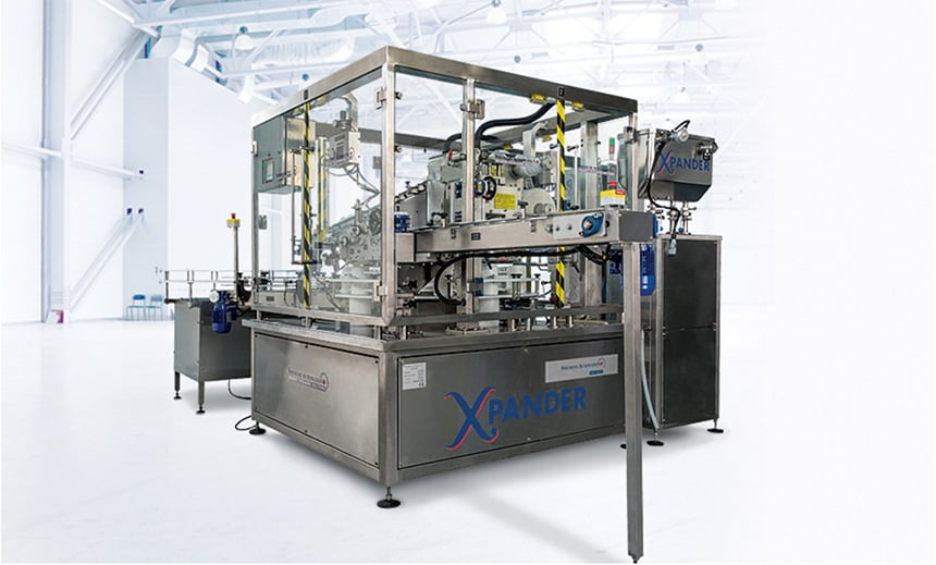 Xpander Monoblock Round Wipes Packaging Machine