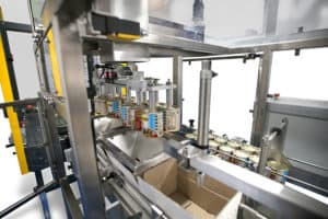 Case Packer Liquid Filling Machines Shemesh Automation